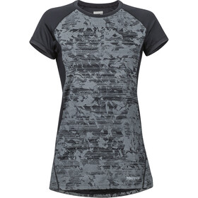 Marmot Crystal Blouse korte mouwen Dames, black mind game